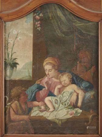 Ecole italienne du XVIIIème siècle, d'après Guido RENI Saint Jean-Baptiste et la [...]