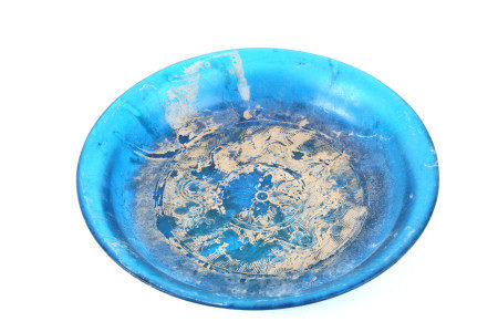 BLUE GLASS WASHER