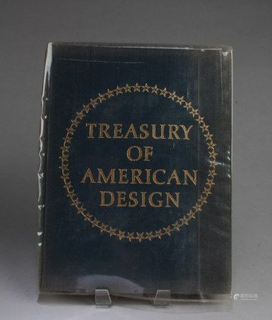 A Book Titled 'Treasury of American Design'