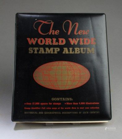The New World Wide Stamp' Album