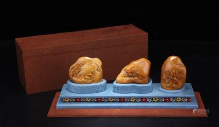A Set of Tianhuang Seals