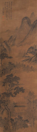 A Chinese Scroll Painting By Shi Tao
