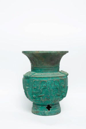 Chinese Rare Early Period Bronze Vase