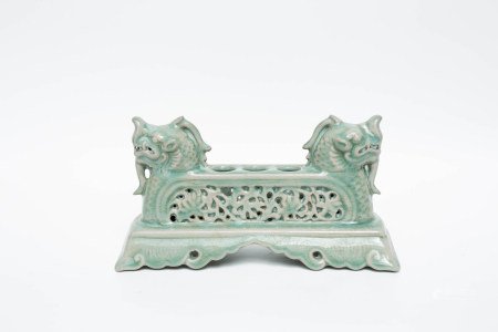 Chinese Early Period Celadon Ornaments