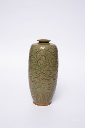 Chinese Exquisite Celadon Bottle