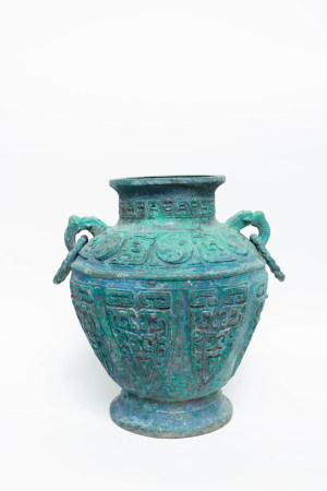 Chinese Rare Early Period Bronze Pot