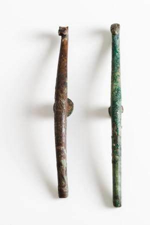 Two belt hooks