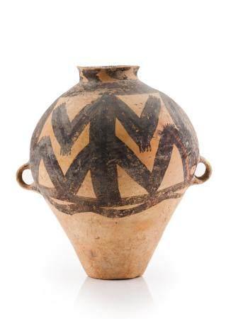 A Machang painted jar