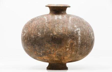A large cocoon jar
