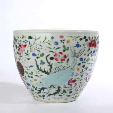 Yongzheng famille rose bowl