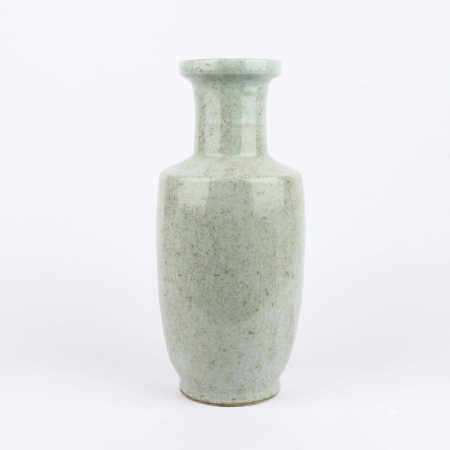Ge glazed mallet bottle in the middle of Qing Dynasty