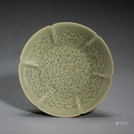 NORTHERN SONG DYNASTY, CHINESE YAOZHOU KILN PORCELAIN DISHES