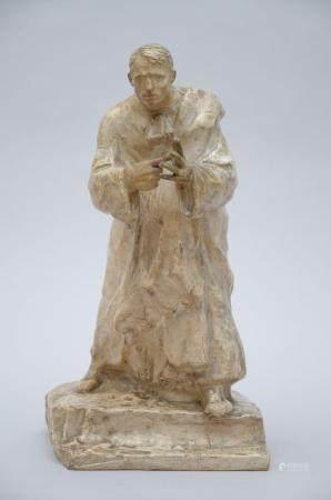 Leo Sarteel: statue (plaster) 'orator' (*) (53cm)