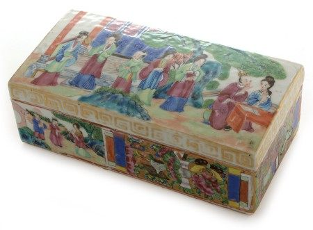 Canton box and cover