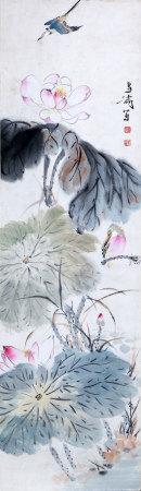 Chinese Wang Xuetao'S Painting