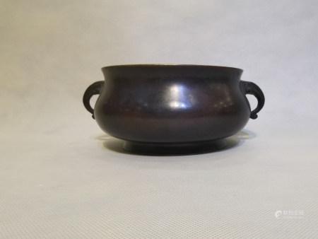 Chinese Bronze Stove