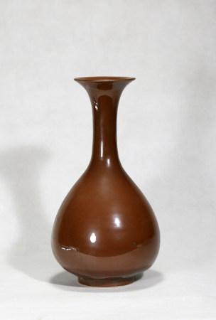 Chinese Ziding Porcelain Bottle