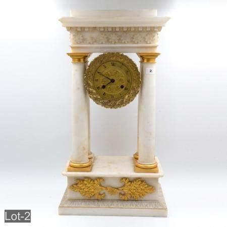 French 19th century clock