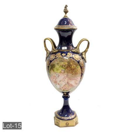 French Sevres style Vase