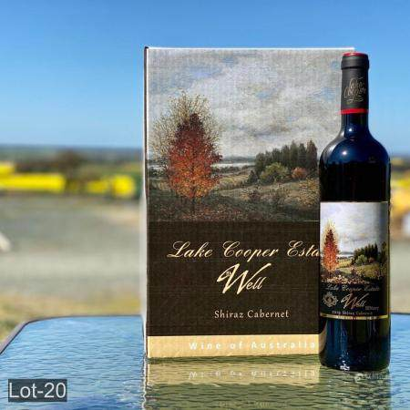 Lake Cooper Estate 6 bottles Well Bin 007 Shiraz Cabernet