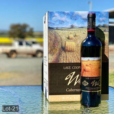 Lake Cooper Estate 6 bottles Well Bin 1717 Cabernet Shiraz