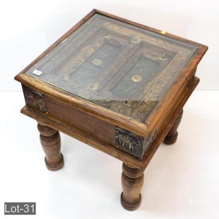 Oriental Teak tea table