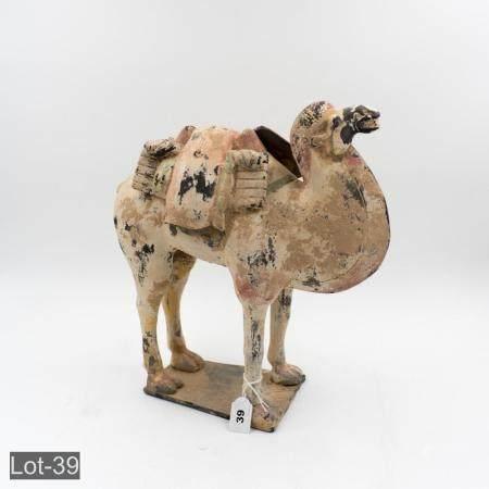 18th century oriental terracotta camel