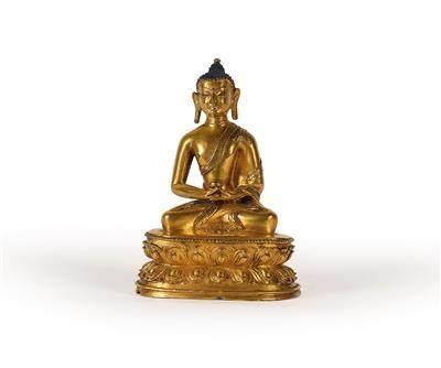 A Buddha Amithaba, Tibet, 15th Century