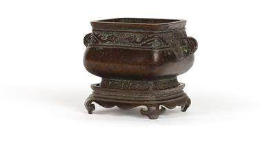 A Censer with Base, China, 17th Century