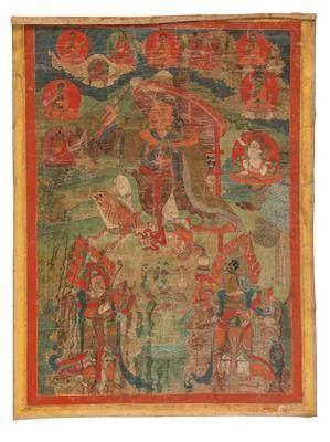 A Thangka of Dharmata, Tibet, Early 18th Century