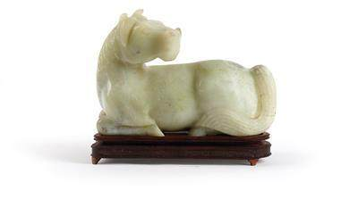 A Large Resting Horse, China, 19th Century