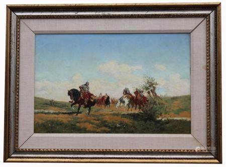 "Wladyslaw Szerner Jr (1870 - 1936) ""The Raiders"""