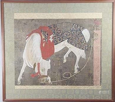 佚名古畫 馬圖