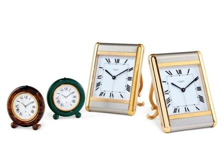 FOUR DESK CLOCKS
