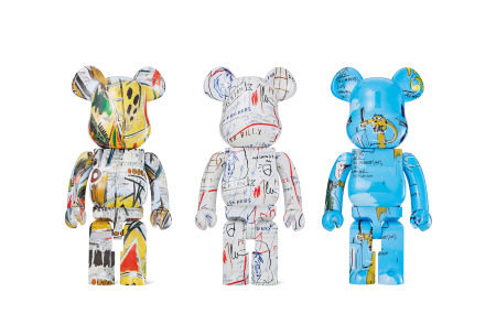 2017年作;2018年作;2019年作 BE@RBRICK 1000% Basquiat (三件一组) PVC