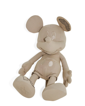 2019年作 Disney Collection Mickey Mouse Plush(Large) 重磅帆布 毛绒