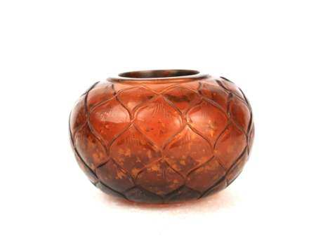A chinese glass water pot