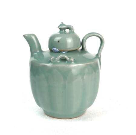 A Chinese Celadon Teapot