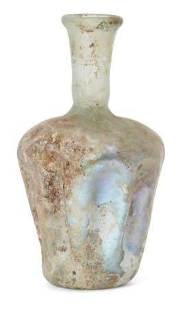 A Roman glass vessel