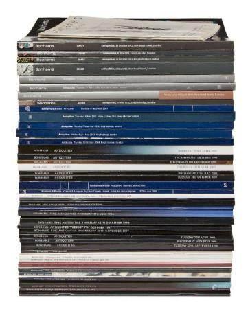 A group of 53 Bonhams Auction catalogues