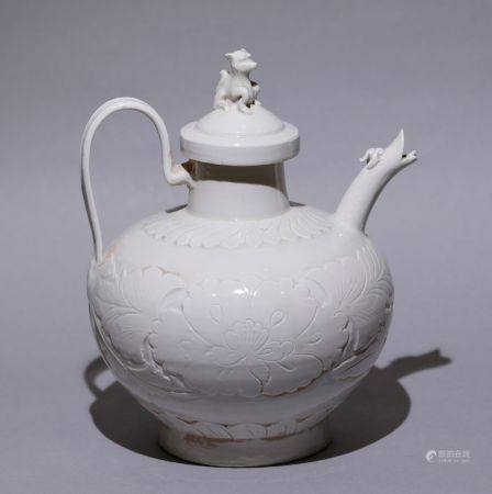 Song Dynasty - Ding Ware Kettle