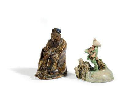 A FINE FAMILLE ROSE PORCELAIN GROUP, CHINA, 18TH CENTURY, TO