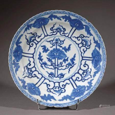 CHINE, Marque Qangxi Époque XVIIIe siècle
