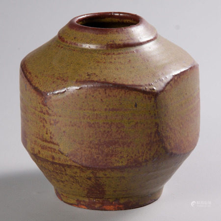 ESIAS BOSCH (SOUTH AFRICAN 1923 - 2010): A STONEWARE VASE