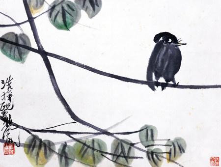 林风眠 花鸟
