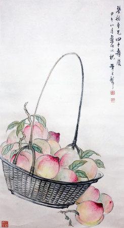 黄君璧 大寿图