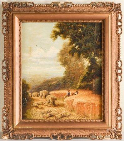 1880年 C.M. Passey 農場 油畫