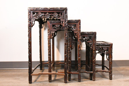 A Group of Suanzhi Nested Tables, Republic P
