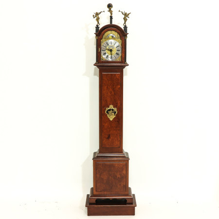 A John Warminck Standing Clock