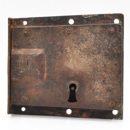 An 18th Century Copper Door Lock